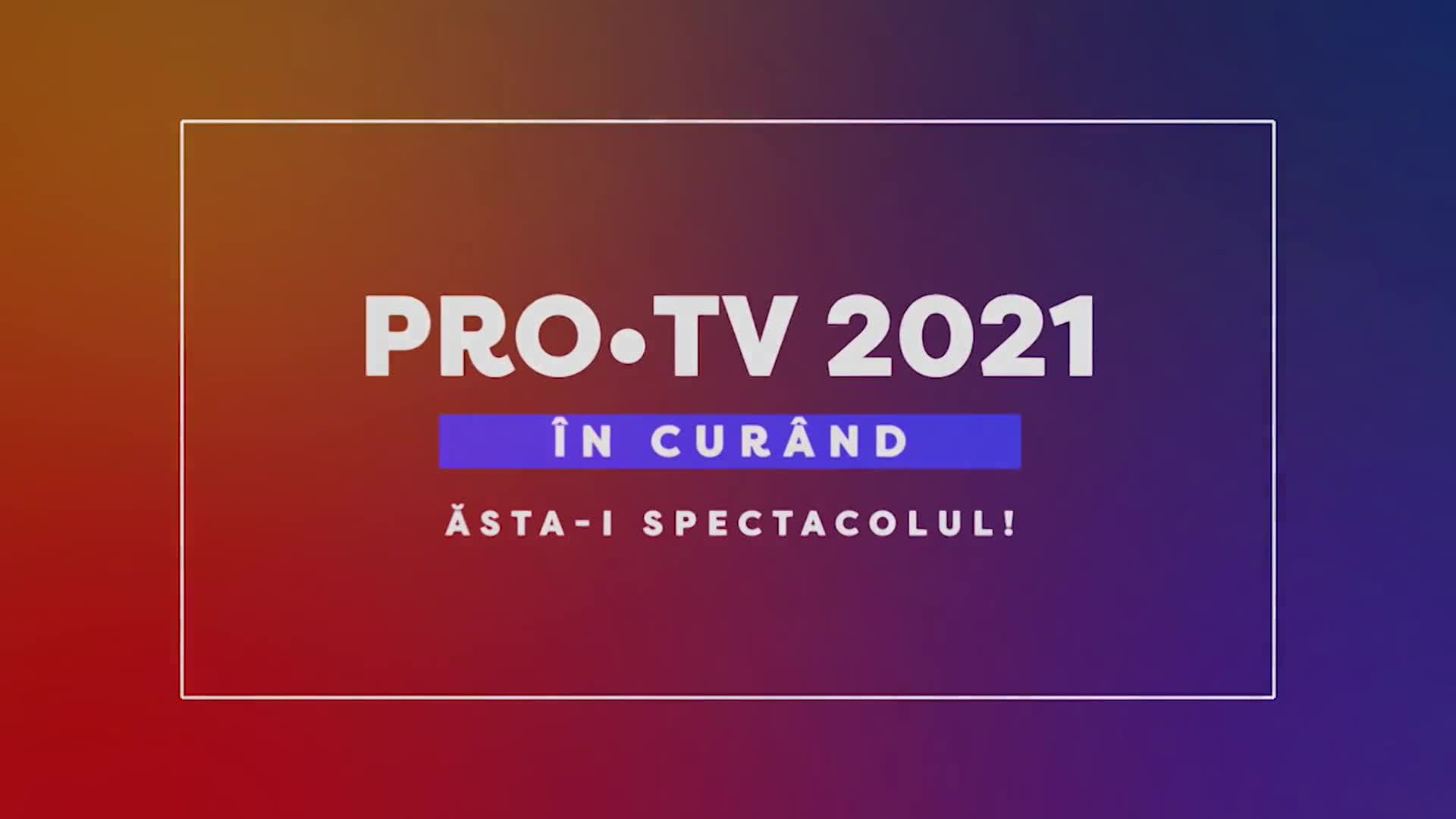 PRO TV Tease 2021 60 sec - DA